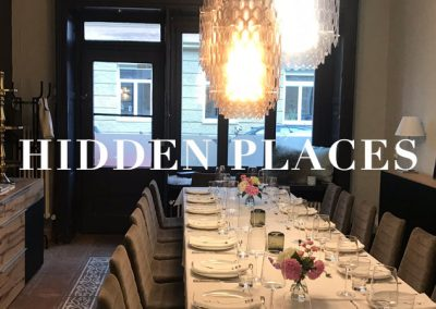 HIDDEN PLACES für Private Dinner und Presseevents in München